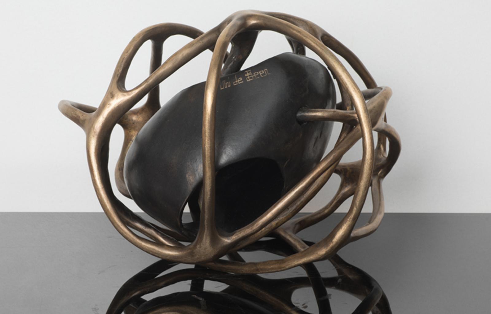 Bronze with Stone