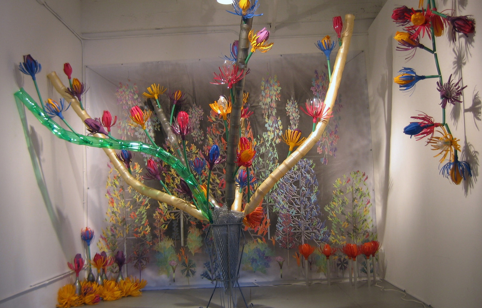 "New York, USA – ""Plastiwood"" Phoenix gallery 2006"